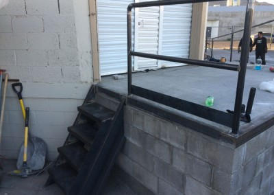 Handicap Handrail and Stairs